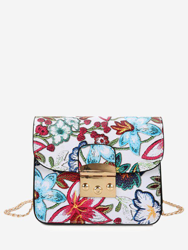 Hot Floral Mini Chain Crossbody Bag