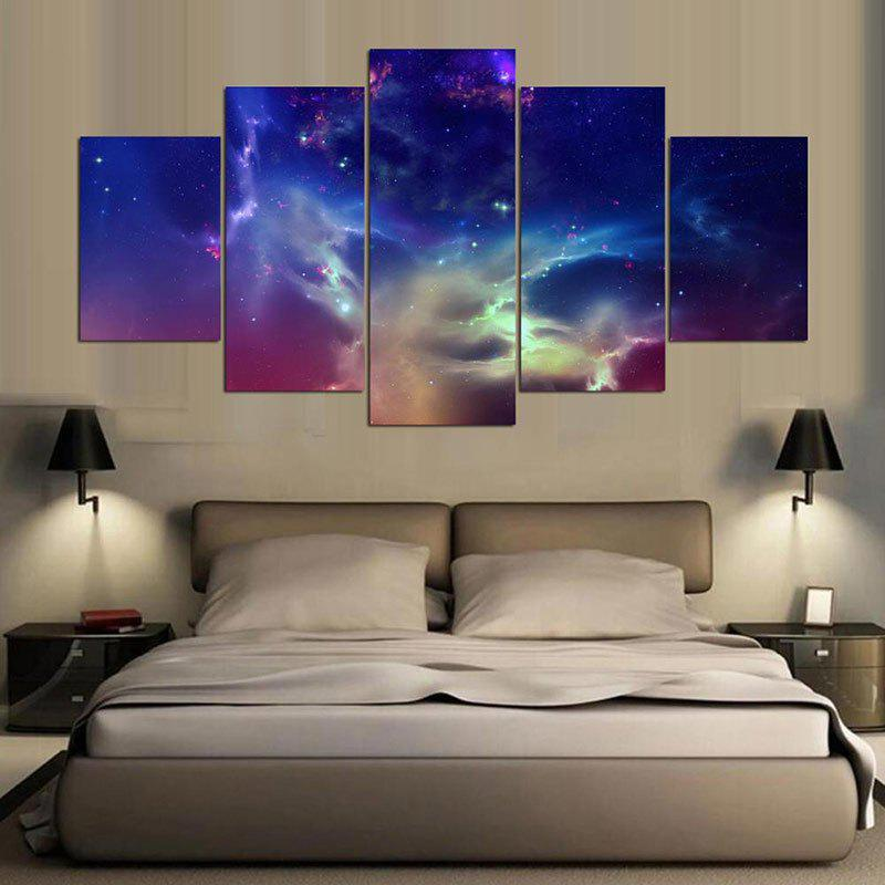 Outfit Unframed Aurora Sky Pattern Canvas Paintings