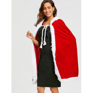 Velvet Christmas Queen Costume -