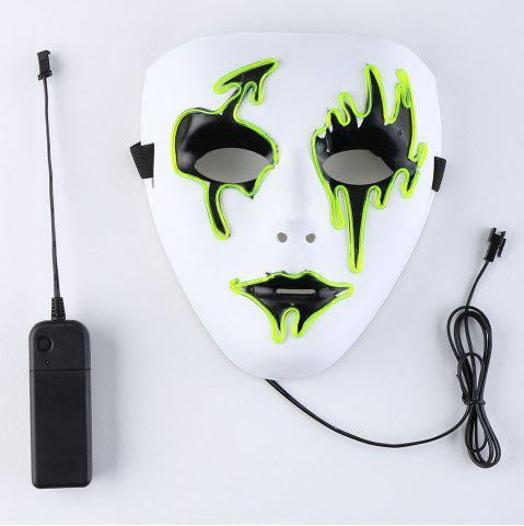 EL Wire LED Luminous Halloween Mask