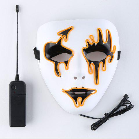 Outfit EL Wire LED Luminous Halloween Mask