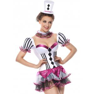 Short Tier Flounce Costume Dress -
