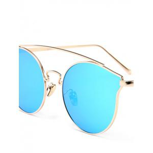 Outdoor Full Frame Butterfly Sunglasses - BLUE