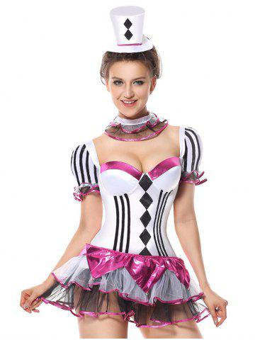 Discount Short Tier Flounce Costume Dress