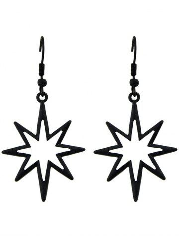 Latest Geometric Pattern Hollow Out Drop Earrings