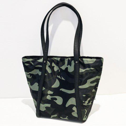 Hot Nylon Studs Shoulder Bag - ACU CAMOUFLAGE  Mobile