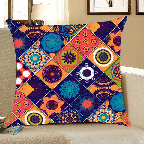 Affordable Bohemia Pattern Square Throw Pillow Case