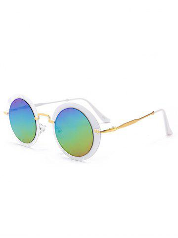 Shops Outdoor Metal Frame Full Rim Round Sunglasses
