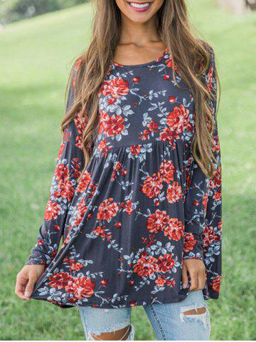 Floral Tunic Smock Top
