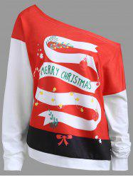 Merry Christmas Berry Imprimé taille plus - White - 2xl