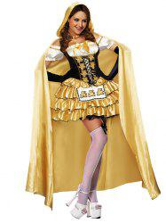 Tier Ruffles Princess Costume Dress -