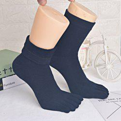 Five Finger Toe Cotton Blend Keep Warm Socks -