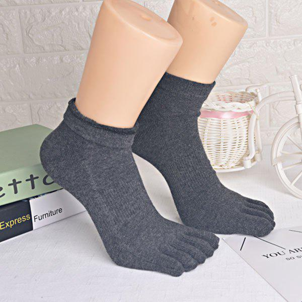 Outfits Cotton Blend Five Toe Finger Socks