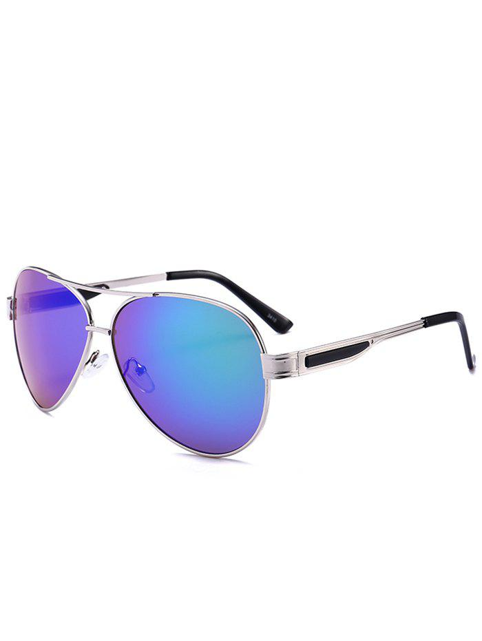 Latest Outdoor Metal Frame Crossbar Pilot Sunglasses