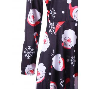 Christmas Santa Claus Snowflake Dress -