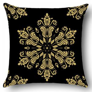 Home Decor Flower Totem Pattern Throw Pillow Case -