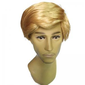 Side Parting Short Straight Président Donald Trump Cosplay Man Wig -