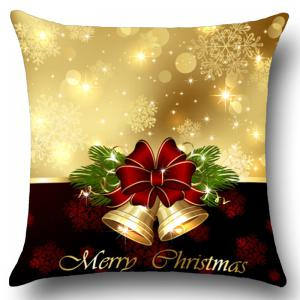 Jingle Bell Pattern Pillow Case -