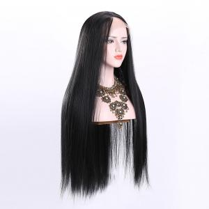 Ultra Long Free Part Straight Synthetic Lace Front Wig -