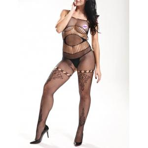 Slip Fishnet Lingerie Bodystockings -