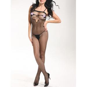 Slip Openwork Lingerie Bodystockings -