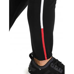Color Block Side Edging Design Jogger Pants -
