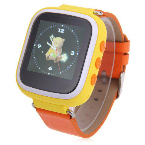 Store Children GPS Smartwatch with SOS GPRS Real-time Position Alarm Talkback Phone YELLOW
