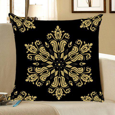 Sale Home Decor Flower Totem Pattern Throw Pillow Case