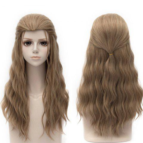 Long Natural Wavy Synthetic Avengers Age of Ultron Thor Cosplay Wig