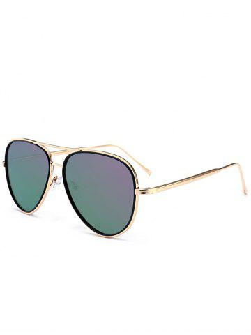Latest Vintage Golden Metal Frame Crossbar Sunglasses - RADIANT  Mobile