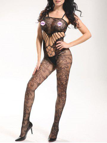 Outfit Fishnet Slip See Through Bodystockings