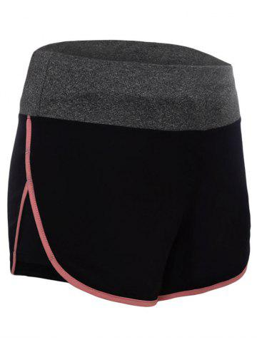 Running Shorts en Dolphin taille taille