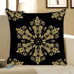 Home Decor Flower Totem Pattern Throw Pillow Case