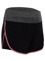 Running Shorts en Dolphin taille taille -