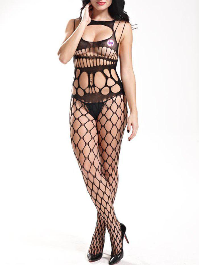Buy Openwork Cut Out Lingerie Bodystockings