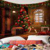 Christmas Tree Decorations Pattern Tapestry Wall Art -