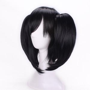 Short Side Bang Pigtail Straight Anime Love Live Yazawa Nico Cosplay Synthetic Wig -