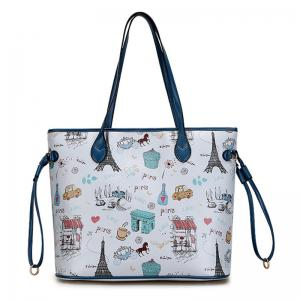 Print 2 Pieces Shoulder Bag Set -