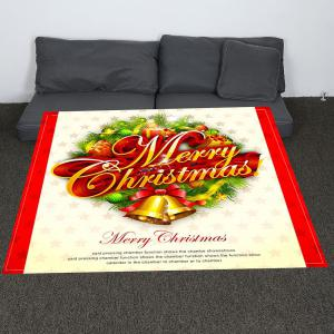 Merry Christmas Patterned Coral Fleece Blanket - COLORFUL W59 INCH * L79 INCH