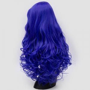 Long Side Bang Fluffy Curly Synthetic Party Wig -