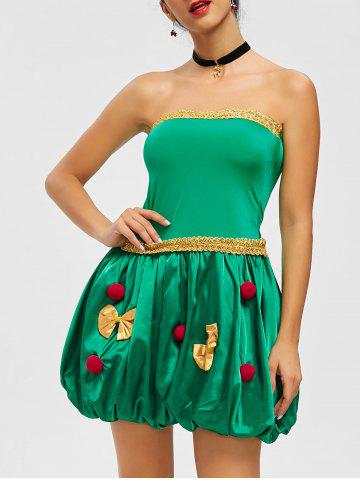 Buy Pompom Bandeau Holiday Costume Dress