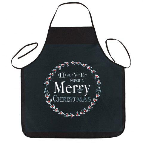 Latest Merry Christmas Print Waterproof Kitchen Apron