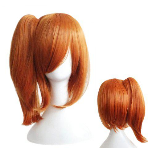 Buy Medium Side Bang Straight Ponytail Love Live Kousaka Honoka Cosplay Synthetic Wig - PEARL KUMQUAT  Mobile
