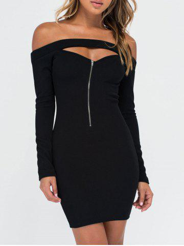 Robe Bodycon Noir S
