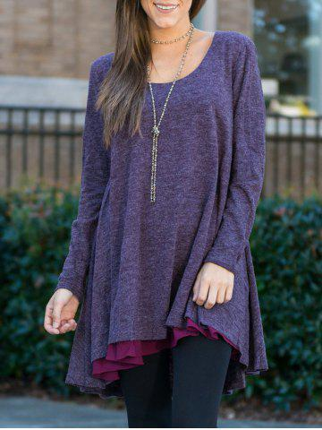 Fashion Long Sleeves Tunic Tee Dress
