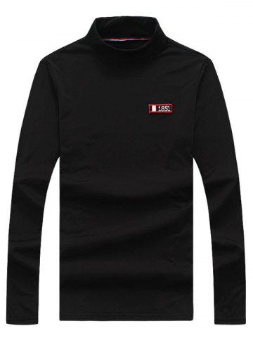 Turtle Neck Long Sleeve T shirt