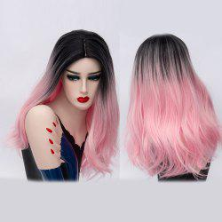 Long Moyen Partie Natural Straight Ombre Synthetic Party Wig -