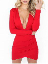 Robe Bodycon - Rouge M
