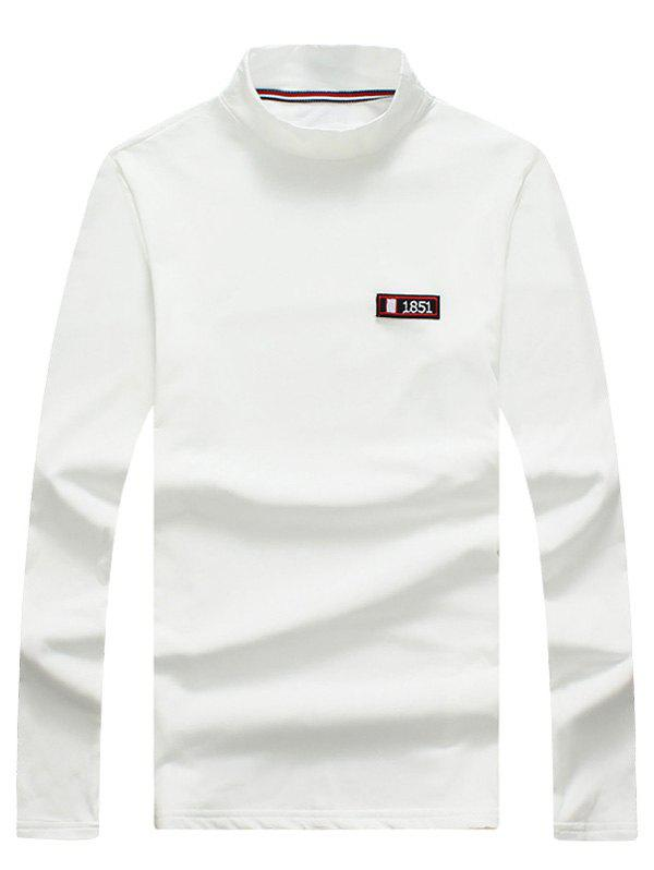 Turtle Neck Long Sleeve T shirt 230885506
