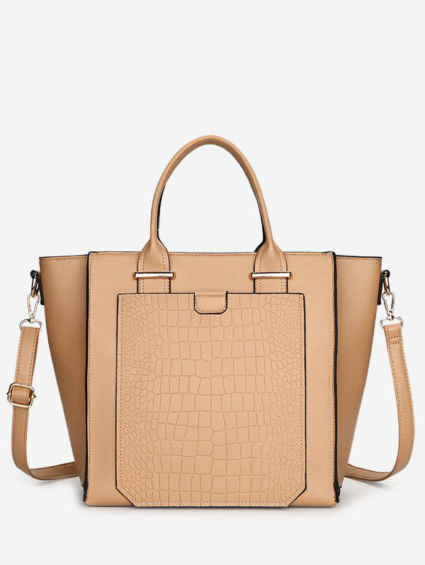 Outfits Faux Leather Embossing Handbag